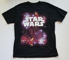 Star Wars Galaxy Tee - By Topless California - XL - Black