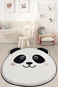NEW CARPET Non-slip Circle Rugs living room 100cm Round Mat Washable Kids Room
