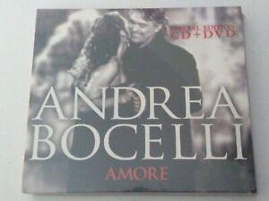 ANDREA BOCELLI - AMORE - CD + DVD - 2006 - NUOVO, SIGILLATO! - ORIGINALE