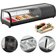 "46"" Refrigerated Sushi Display Case 32-53.6℉ Etl RoHs"