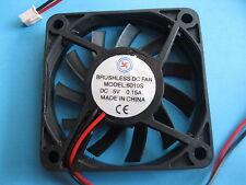 10 pcs Brushless DC Cooling Fan 5V 6010S 11 Blades 60x60x10mm Sleeve-bearing