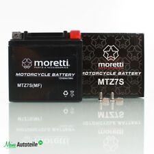 Motorrad Batterie Gel Moretti MTZ7S 12V 6 Ah YTZ7S ATV Quad Batterie