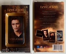 Coque téléphone portable pour Iphone 3 & 3GS Twilight Tentation Robert Pattinson
