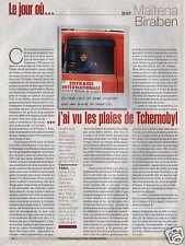 Coupure de presse Clipping 2006 Maïtena Biraben  (1 page)