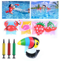 2-7Years Baby Swimming Arm Ring Inflatable Pool Kid Children Arm float Sleev Px