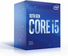 Intel Core i5-10400F Processore (4,3 GHz, 6 Cuori, Socket LGA1200, Box) - BX8070110400F