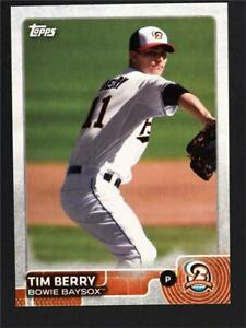 2015 Topps Pro Debut #15 Tim Berry - NM-MT