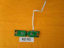 Toshiba satellite a100-773 panel Power Button placa board #kz-91