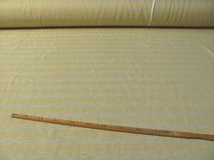 Deko-Stoff-Stoffe-55% Leinen 330cm Überbreite Übergardinen Nature gelb  Nr54