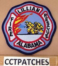 LILLIAN, ALABAMA FIRE & RESCUE PATCH AL