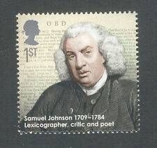 Samuel Johnson-Literature-Great Britain - Poet single mnh- 2009