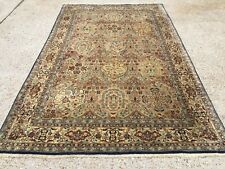 Antique Persian HandMade Veg Dye Wool Rug 225x139cm country house chic tribal