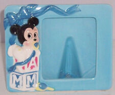 Walt Disney Frame Photo Minnie Mouse Picture Baby Blue Ceramic Vintage