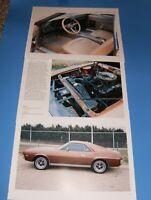 ★★1968 AMC AMX 390 PHOTO/POSTER LOT 68 69 70 JAVELIN SST★★