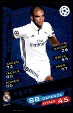 Match Attax Champions League 16/17 Pepe Real Madrid No. RM5