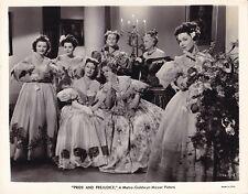 GREER GARSON MAUREEN O'SULLIVAN ANN RUTHERFORD '40 PRIDE AND PREJUDICE MGM Photo
