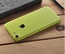 iPhone Leather 7 Colours Full Back 360 Vinyl Skin Sticker Skin Wrap Cover Case
