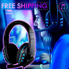 Cascos Gaming PS4 Audifonos Auriculares Gamer PC Xbox One Gamer Con Microfono PS