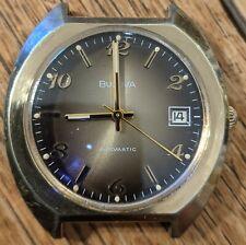 Bulova N5 Automatic Watch 17 Jewels 11AOACD w/ Date Quick Set, 21600 bph -13 s/d