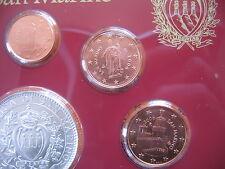 SAN MARINO 1 Cent + 2 Cent + 5 Cent 2006 aus dem KMS