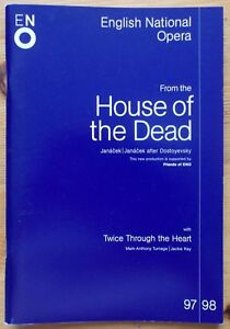 From The House Of The Dead & TT Heart programme ENO English National Opera 1997