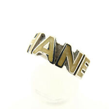 CHANEL Ring with logo Ladies Authentic Used Y2052