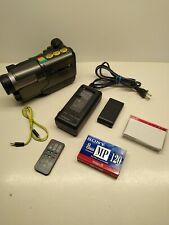New ListingHitachi Vm-E510A 8mm Vintage Video Camcorder Tested, No Bag, Accessories 8 Mm