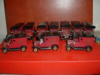 LLEDO   10 x PROMOTIONAL FORD MODELS T  VAN UNBOXED