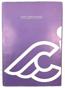 Cinelli Catalog Vintage Cycling Rare Fold Out With Inserts