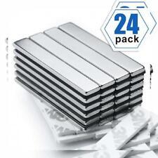 Powerful Neodymium Bar Magnets, Rare-Earth Metal Magnet - 60 x 10...