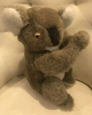 "Vntg Dakin 1981 Plush Koalas 12"" Stffd Animal Marsupial/Aussie Down-Under Toy"