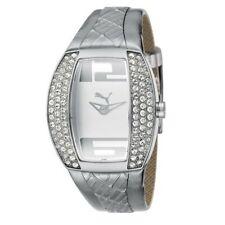 Puma Watch Wrist Band Ladies Vitality Silver Stones PU101172002
