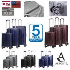 Unisex Children's Plastic Heavy-Duty Luggage
