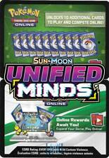2 x Sun & Moon-Unified Minds Booster Pack Online Code