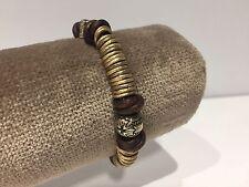 Nueva - Pulsera en Plata y piel ROSICH - Leather & Silver Bracelet