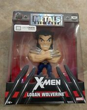 "X-MEN Logan Wolverine Metals Die-Cast M239 Loot Crate Exclusive 4""  Marvel JADA"
