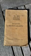"WW2 British manual"" Infantry Section Leading ""dated 1938 , printed 1940"