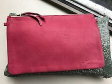 1951 Maison Francaise BUBBLE Clutch XL Pink OuiPlease Leather France SOLD OUT