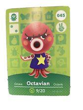 animal crossing amiibo card Octavian #45