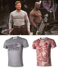 Guardians of the Galaxy 2 Shirt Peter Jason Quill T-Shirt Star Lord Shirt 3D New