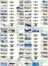 Complete Set of all 30 RAF 75th Anniversary covers, each CERTIFIED SIGNED
