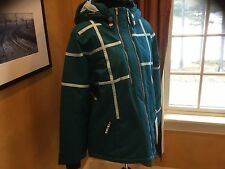 Obermeyer Womens Rebecca Parka Ski Winter Jacket 31173 MSRP$260 Size 12 NWT