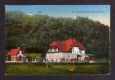 110209 AK Lähn Wlen 1924 Bahnhof Burg Lehnhaus Bahnpost Hirschberg - Löwenberg
