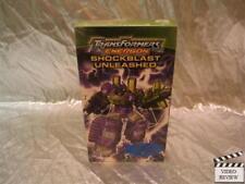 Transformers Energon Shockblast Unleashed VHS Screener