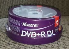 MEMOREX DVD+R DL Double Layer 8.5GB 2.4x 15 pack Dual Layer Blank DVDs