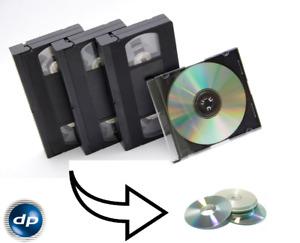 VHS - Kassette auf DVD, digitalisieren auf DVD, Digitalisierung von VHS, VHS - C