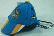 NRL Official Licensed Cap Key Ring Gold Coast Titans 4895014843301 NEW
