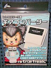 RETRO FREAK GAME GEAR CONVERTER SEGA MARKIII SG-1000 My Card Master System JAPAN