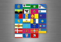 Flag sheet sticker labels country subdivisions states province ukraine
