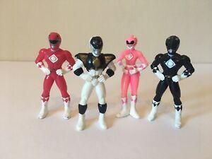 Mighty Morphin Power Rangers The Movie Kelloggs Cereal Promo Figures Set 4/6